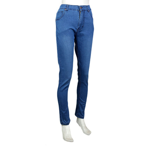 Women's Denim Pant - Blue - test-store-for-chase-value