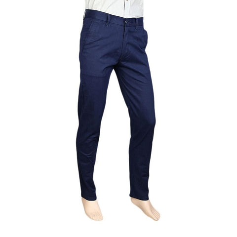 Men's Zara Cotton Pant - Navy Blue - Navy/Blue - test-store-for-chase-value
