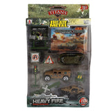 Military Die Cast Model Set 10 Pcs - Multi - test-store-for-chase-value