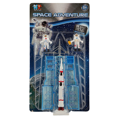 Space Adventure Die Cast Model Set 3 Pcs - Multi - test-store-for-chase-value