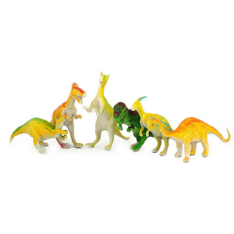 Dinosaur Toy Set 6 Pcs - Multi - test-store-for-chase-value