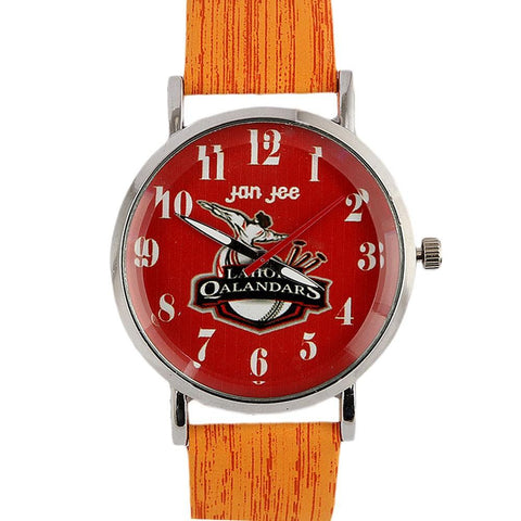 Lahore Qalandars PSL Watch - Orange - test-store-for-chase-value
