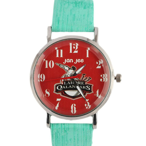 Lahore Qalandars PSL Watch - Cyan - test-store-for-chase-value