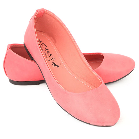 Women's Fancy Pumps - Pink
