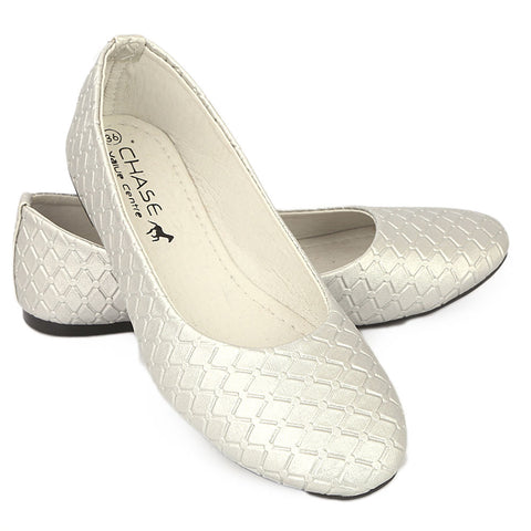 Women's Fancy Pumps - Silver