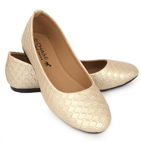Women's Fancy Pumps - Golden