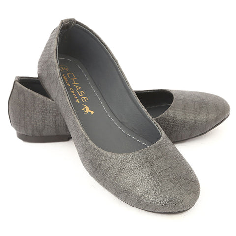 Women's Fancy Pumps - Grey
