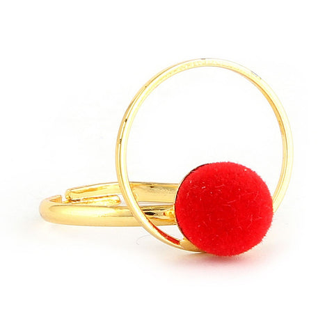 Women's Finger Ring - Red -  Red - test-store-for-chase-value