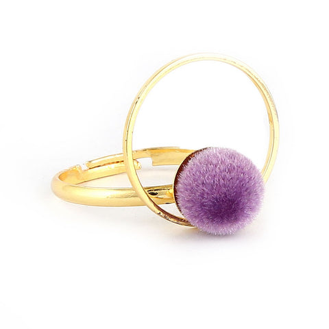 Women's Finger Ring - Purple -  Purple - test-store-for-chase-value
