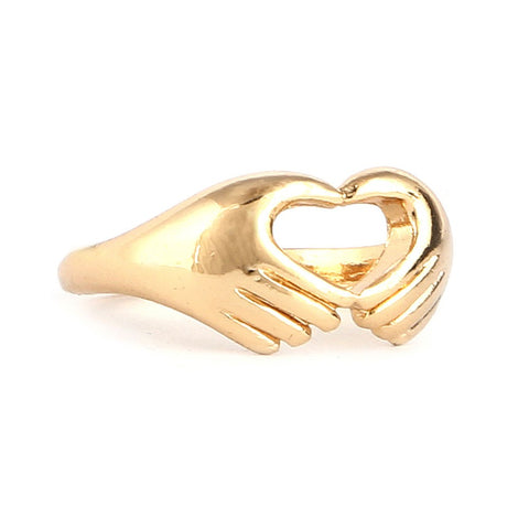 Women's Finger Ring - Golden - test-store-for-chase-value