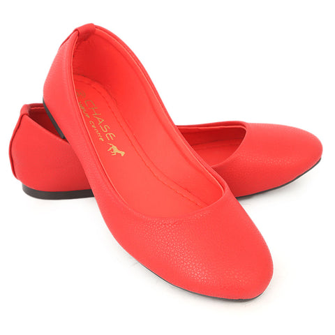 Women's Fancy Pumps - Red