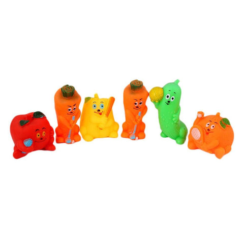 Chuchu Stuff Toy 6 Pcs - Multi - test-store-for-chase-value
