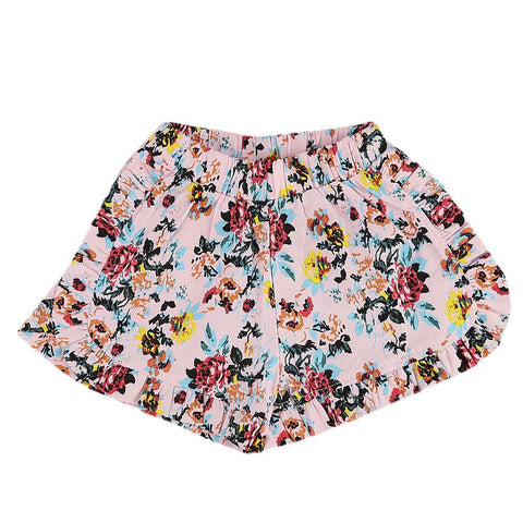 Girls Cotton Short - Pink -  Pink - test-store-for-chase-value