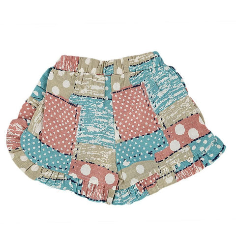 Girls Cotton Short - Multi -  Multi - test-store-for-chase-value