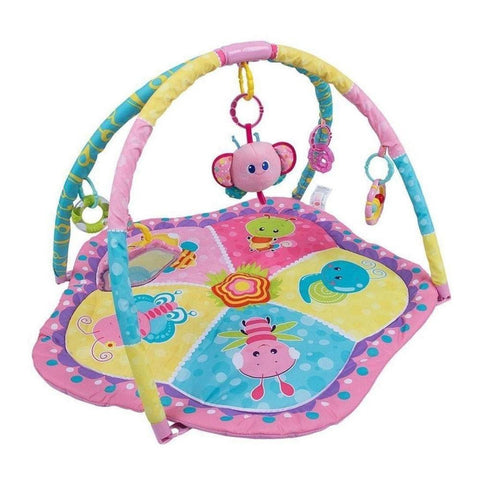 Mastela Musical Activities Ladybug Mat (8350) - Pink - test-store-for-chase-value