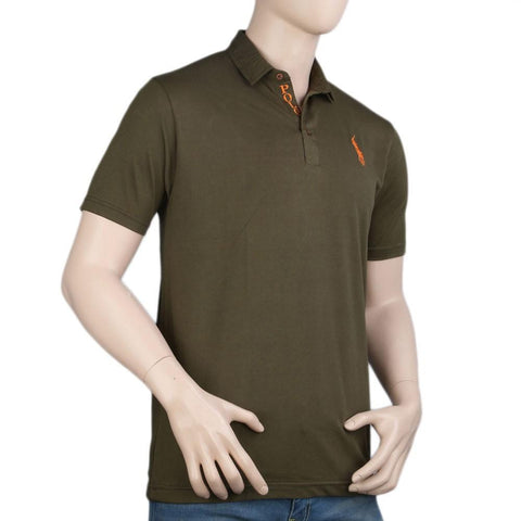 Polo T-Shirt For Men - Green -  Green - test-store-for-chase-value