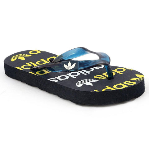 Kids Flip Flop Slippers - Black - test-store-for-chase-value