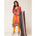 Signature Icon Printed Lawn 3 Piece Un-Stitched Suit Vol 01 - 11 B - test-store-for-chase-value