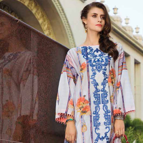Subata Embroidered Lawn 3 Piece Un-Stitched Suit - 01 B - test-store-for-chase-value