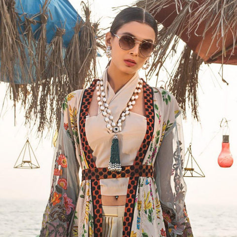 Ayesha Ibrahim Embroidered Lawn Un-Stitched Suit - Orchid - test-store-for-chase-value