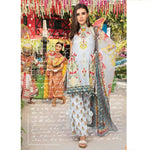 Izabell Embroidered Cerulean Un-Stitched Suit - test-store-for-chase-value