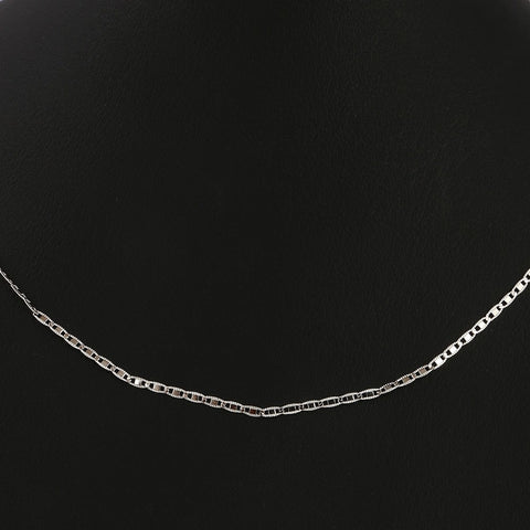 Women's Fancy Plain Chain - Silver - test-store-for-chase-value
