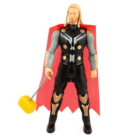Super Hero Avengers Thor Toy For Kids - Black - test-store-for-chase-value