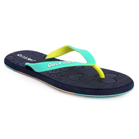 Quick Surf Women's Flip Flop Slippers 2580 - Blue - test-store-for-chase-value