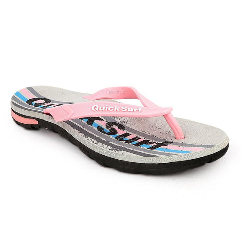 Quick Surf Women's Flip Flop Slippers 2819 - Grey - test-store-for-chase-value