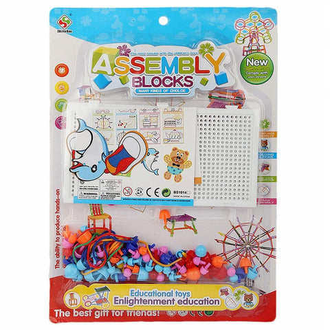 Educational Assembly Blocks Game For Kids - Multi - test-store-for-chase-value