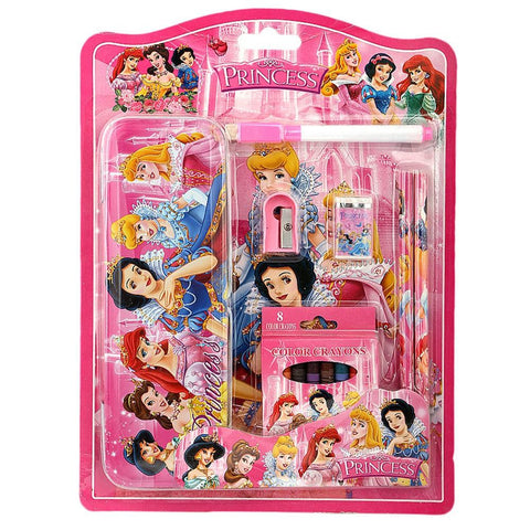 Disney Princess Stationery Set For Kids - Pink - test-store-for-chase-value