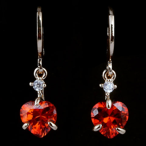 Women's Fancy Earrings - Red - test-store-for-chase-value