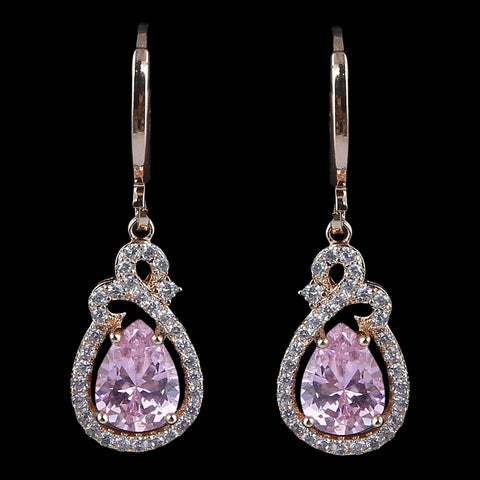 Women's Fancy Earrings - Pink - test-store-for-chase-value