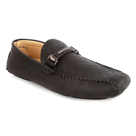 Men's Loafers Shoes (HM180805-1) -  Black - Black - test-store-for-chase-value