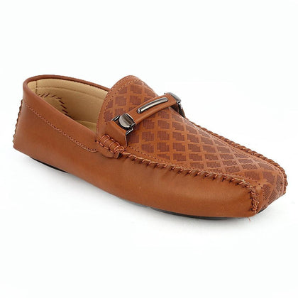 Men's Loafers Shoes (HM180805-1) -  Brown - test-store-for-chase-value