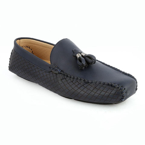 Men's Loafers Shoes (HM180805-3) -  Navy Blue - Navy/Blue - test-store-for-chase-value