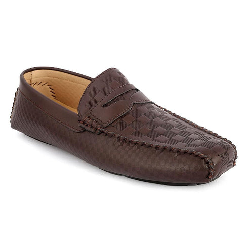 Men's Loafers Shoes (HM180805-4) -  Coffee - test-store-for-chase-value