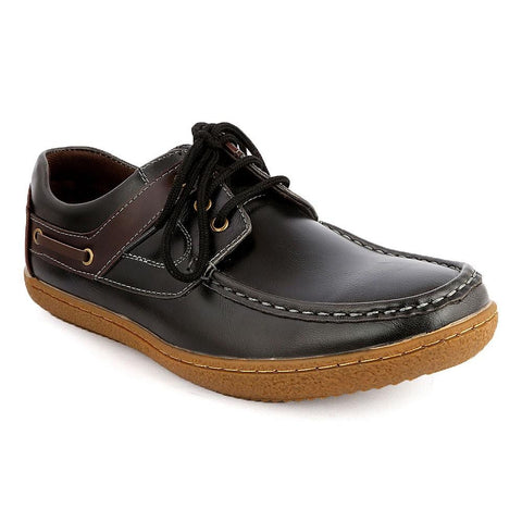 Men's Casual Shoes (JH716) -  Black - Black - test-store-for-chase-value