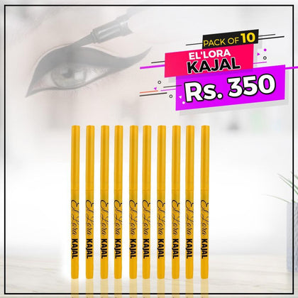 El'Lora Kajal Pack Of 10 - test-store-for-chase-value