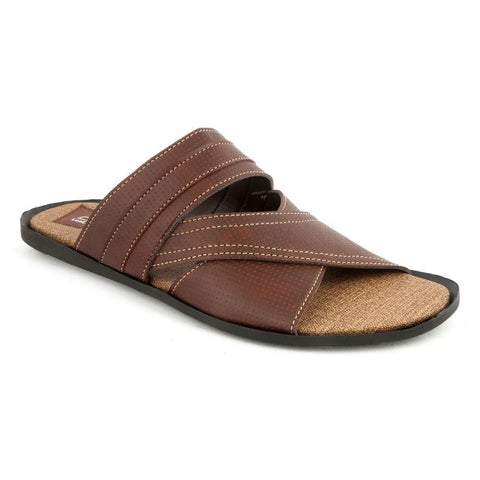 Men's Casual Slippers R-40 - Brown - Brown - test-store-for-chase-value