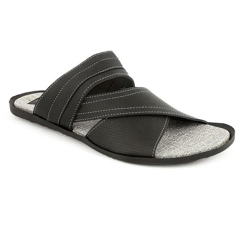 Men's Casual Slippers R-40 - Black - Black - test-store-for-chase-value