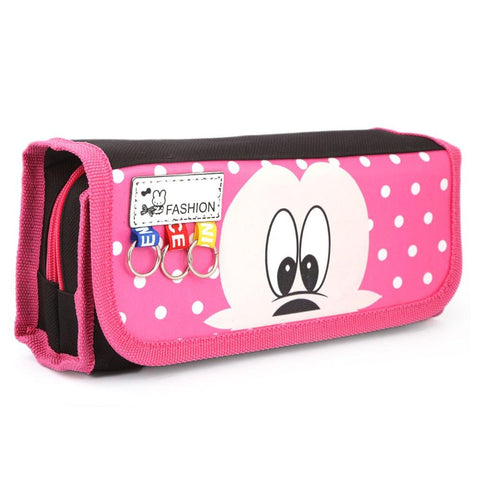 Mickey Mouse Pencil Pouch - Pink - test-store-for-chase-value