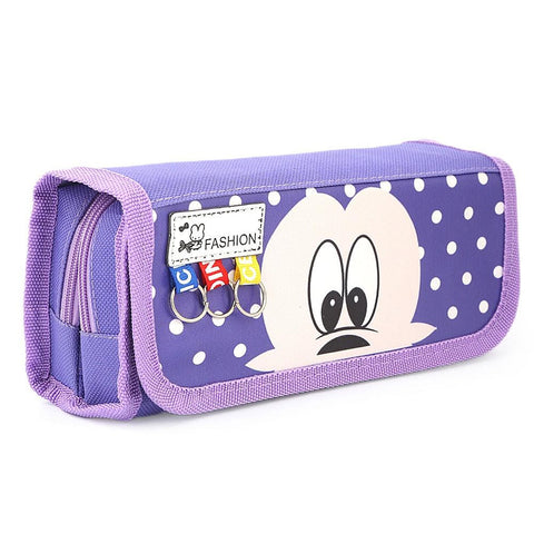 Mickey Mouse Pencil Pouch - Purple - test-store-for-chase-value