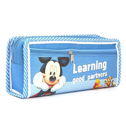 Mickey Mouse Pencil Pouch - Blue - test-store-for-chase-value