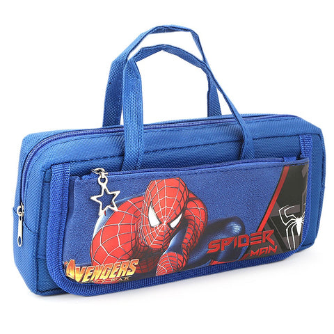 Spider Man Pencil Pouch - Blue - test-store-for-chase-value