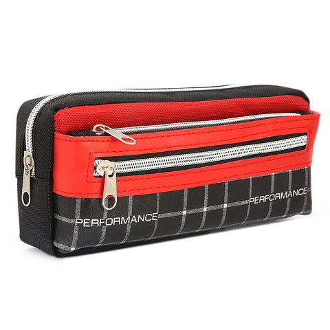 Pencil Pouch - Red - test-store-for-chase-value