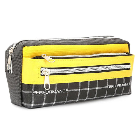 Pencil Pouch - Yellow - test-store-for-chase-value