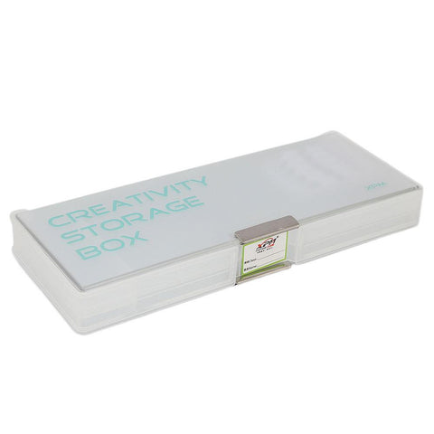 Pencil Box Double Sided - White - test-store-for-chase-value