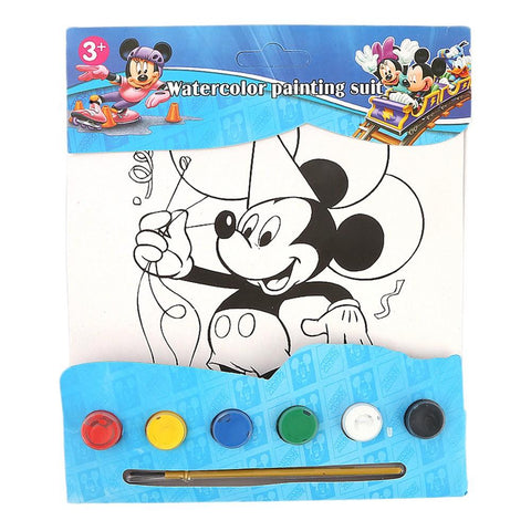 Mickey Mouse Watercolor Painting Book For Kids - test-store-for-chase-value