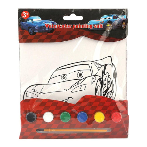 Cars 2 Watercolor Painting Book For Kids - test-store-for-chase-value